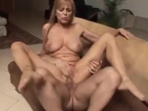 Busty mother fucked by son