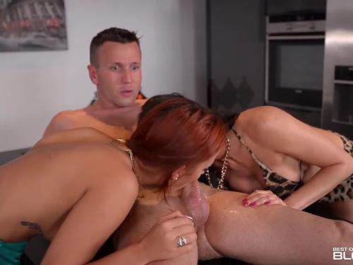 Blowjob threesome with luxury sluts kitana lure & aylin diamond