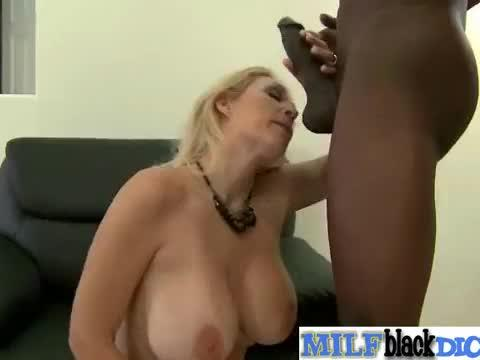 Sex action scene with black huge cock in wet horny mature lady (charlee chase) vid-10